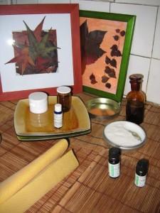 ingrédients pour une préparation d'une crème protectrice